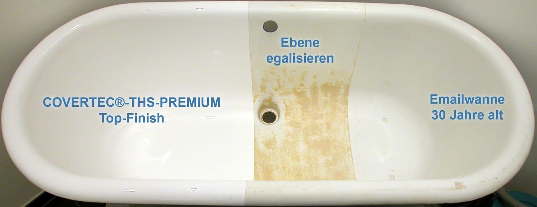 Emaille badewanne neu beschichten